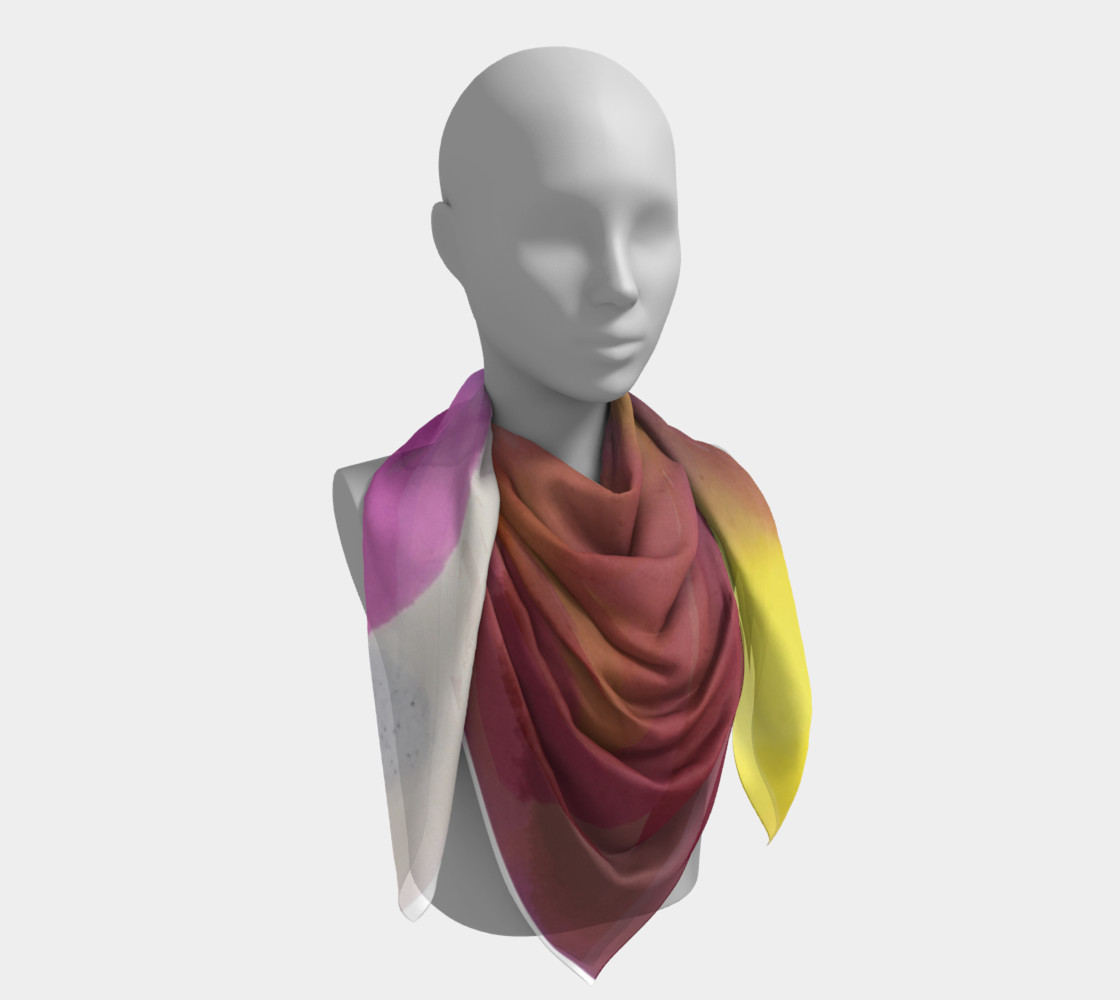 Orchid Flow Scarf preview #4