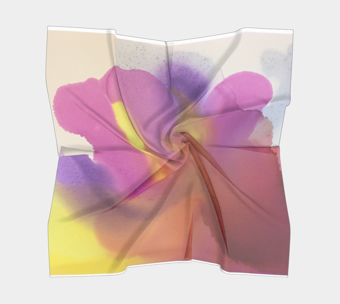 Orchid Flow Scarf preview #5