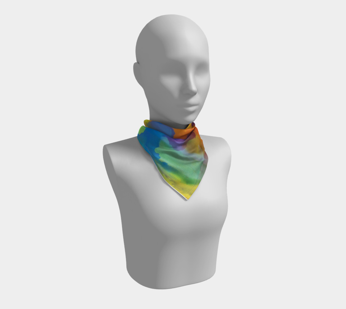 Summer Swirl Scarf preview #1