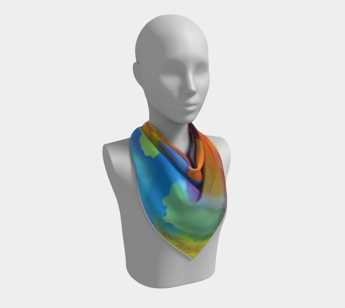 Summer Swirl Scarf preview #2