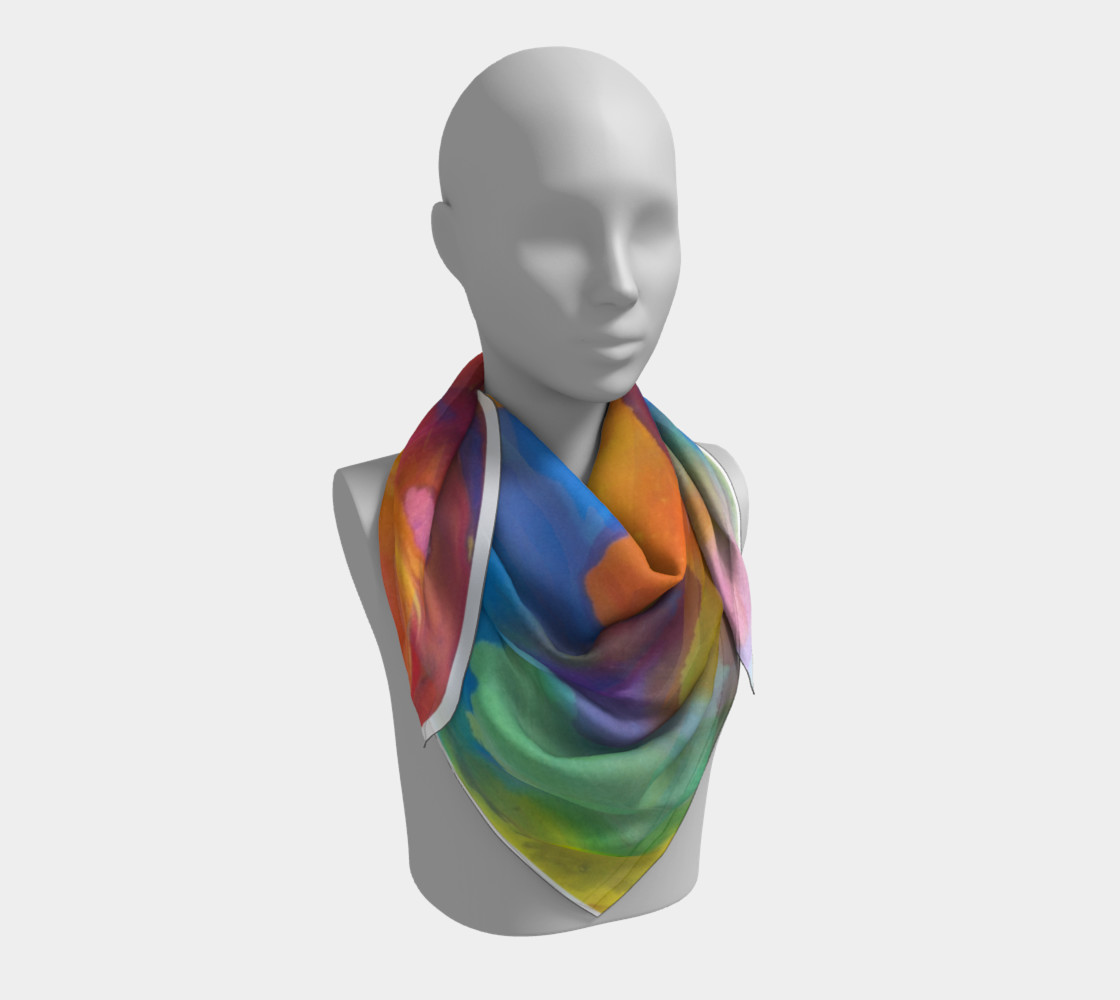 Summer Swirl Scarf preview #3