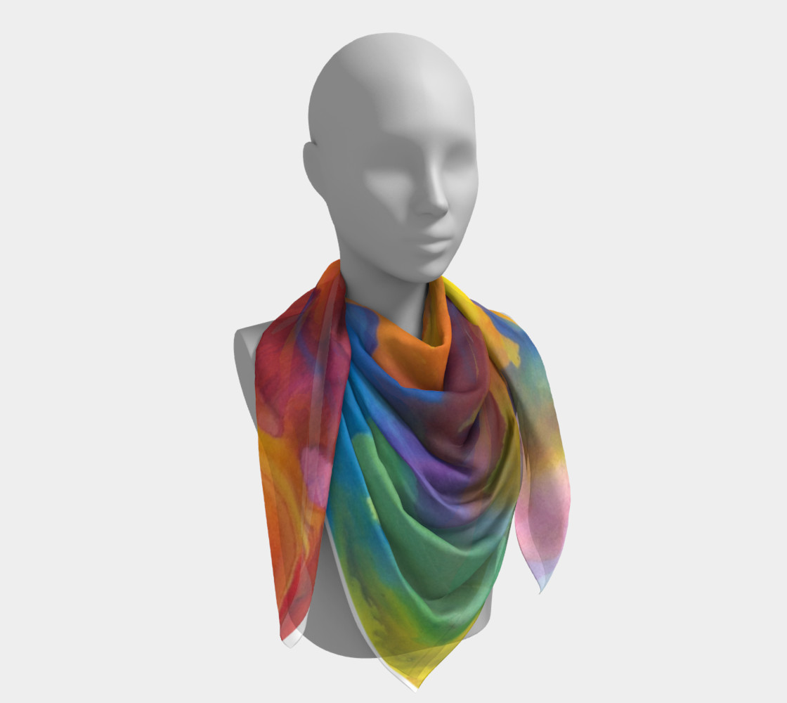 Summer Swirl Scarf preview #4