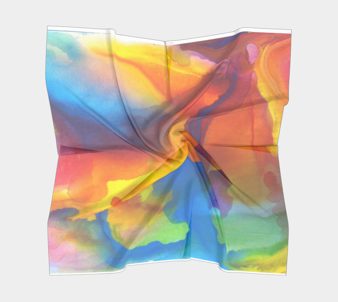 Summer Swirl Scarf preview #5