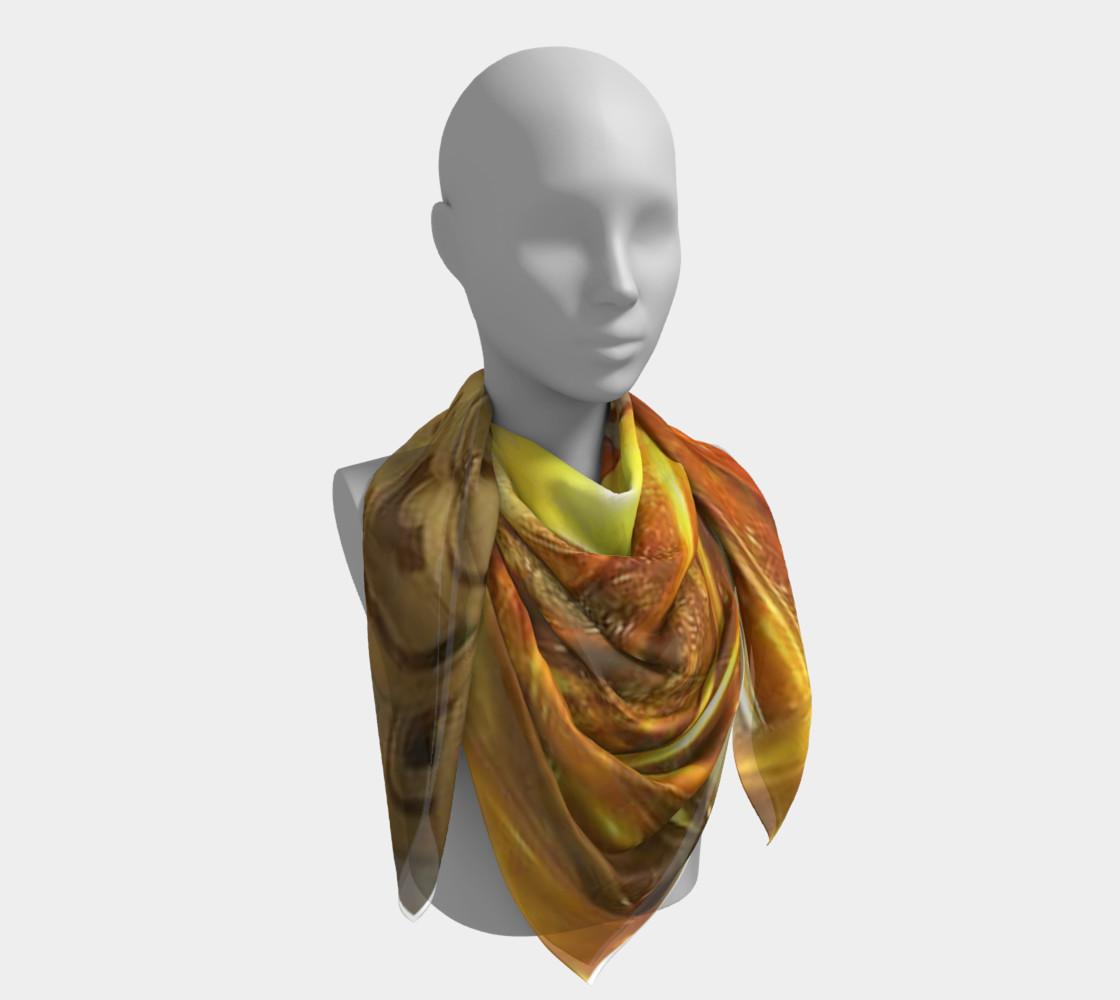 Aperçu de SOFT SILK BUDDHA'S BLESSINGS SCARF 24X24 #4