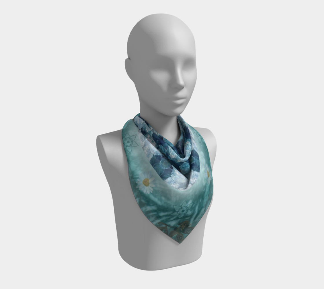 Eloquence Large Silk Scarf preview #2