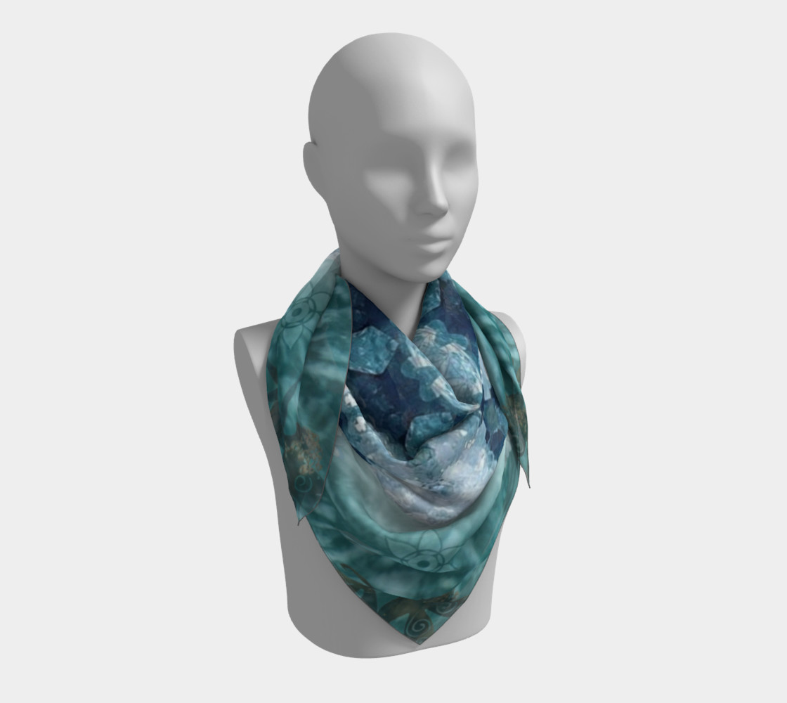 Eloquence Large Silk Scarf preview #3