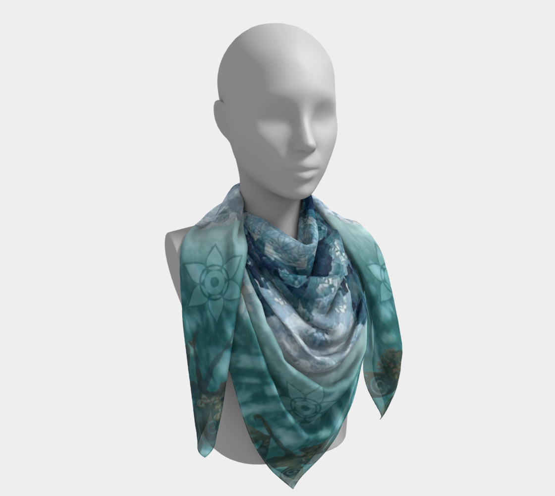 Eloquence Large Silk Scarf preview #4