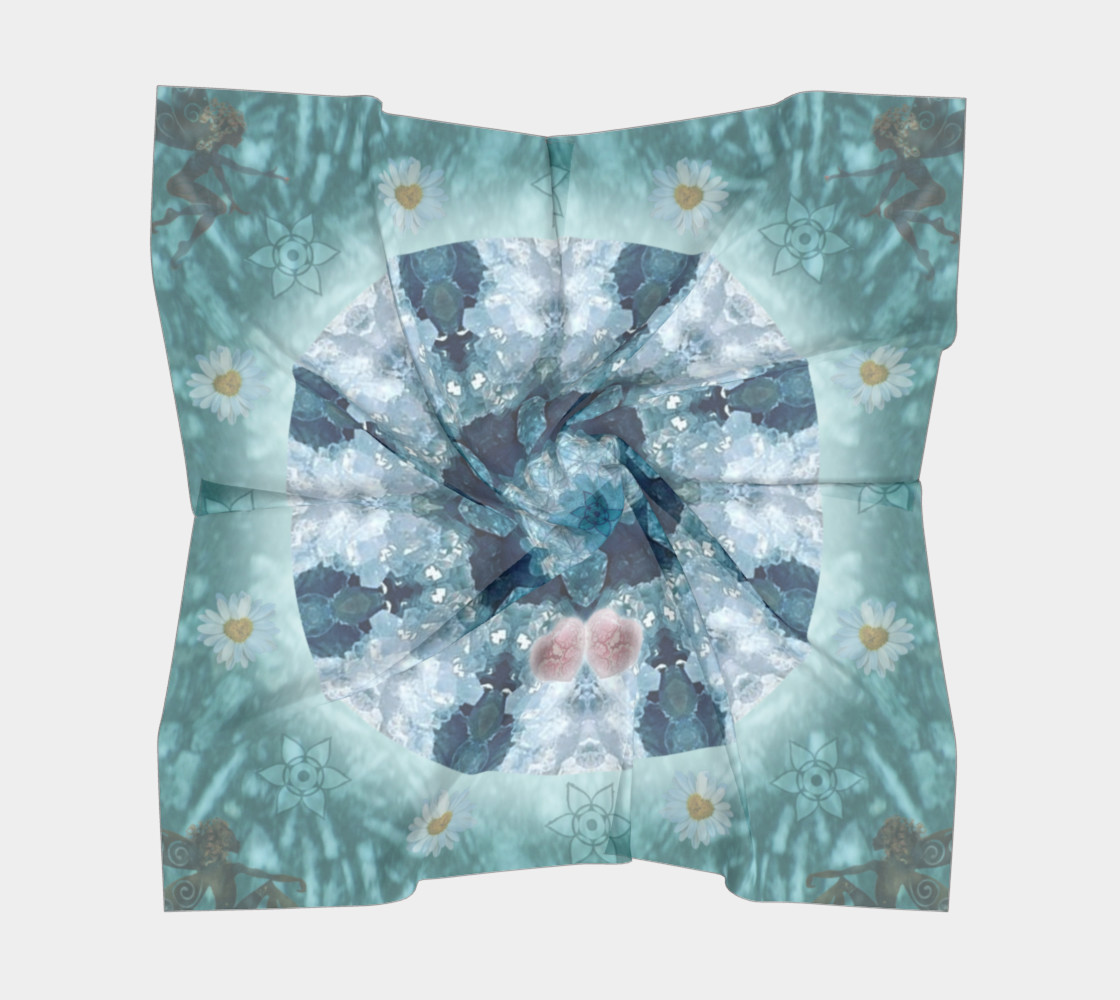 Eloquence Large Silk Scarf preview #5