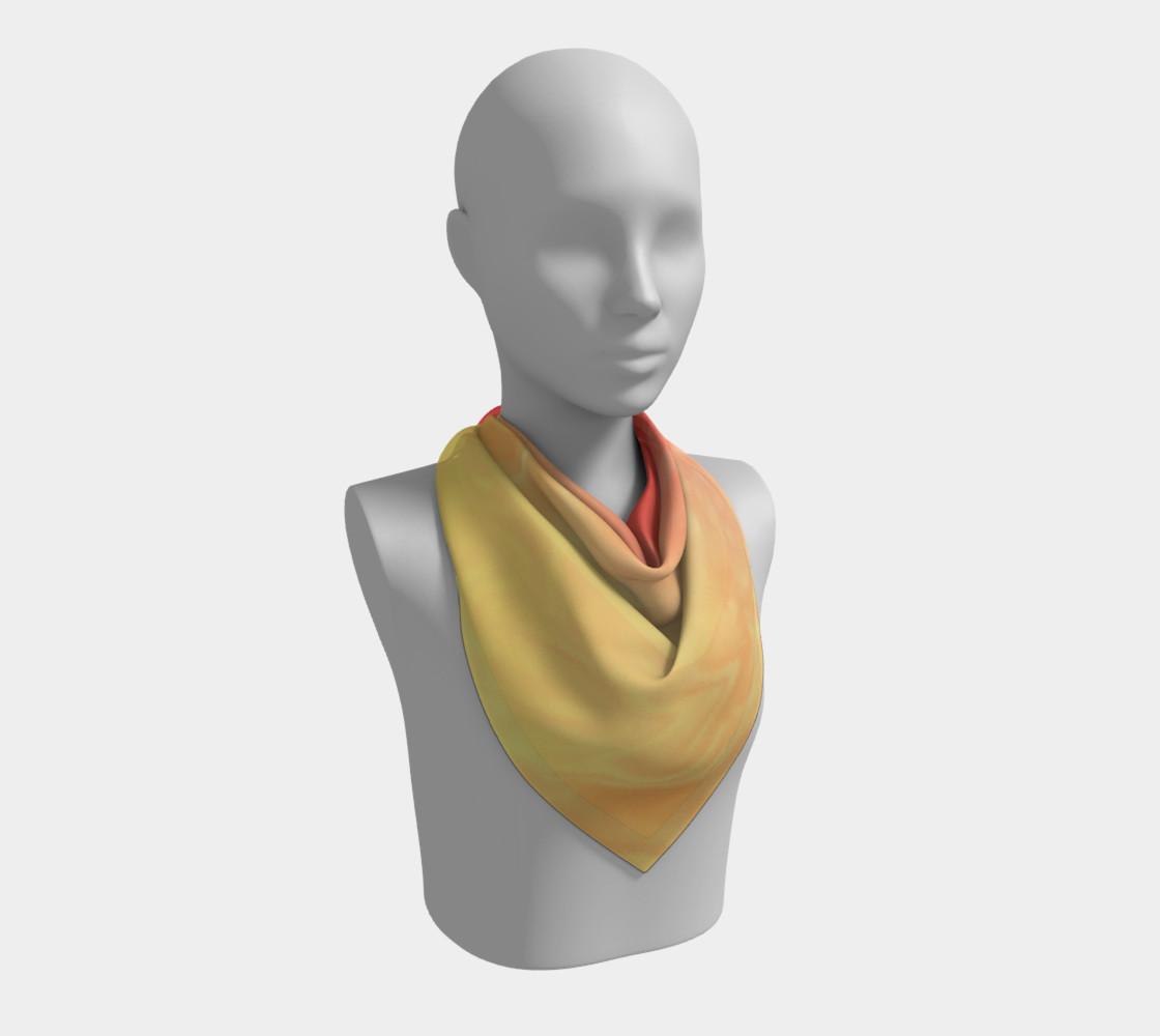 Aperçu de Ombre Orange Yellow Pattern  #2