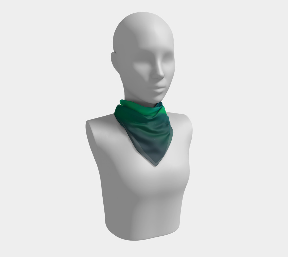 Vivid Northern Lights Small Scarf preview #1