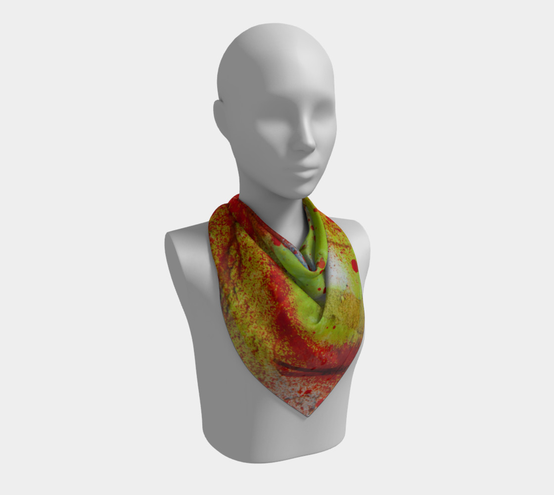 Graffiti Square Scarf 3 preview #2