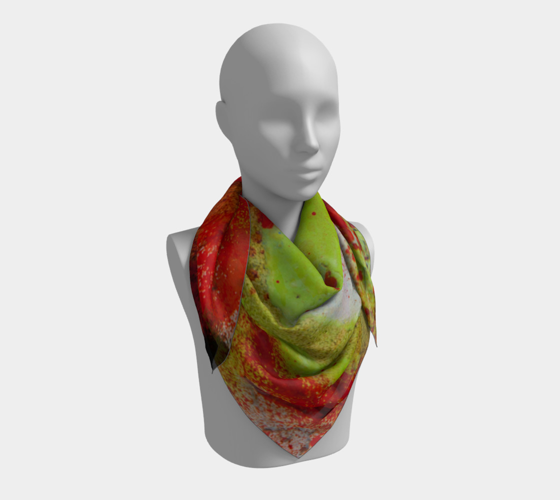 Graffiti Square Scarf 3 preview #3