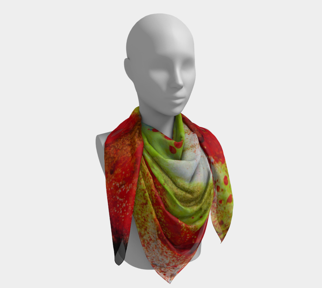 Graffiti Square Scarf 3 preview #4