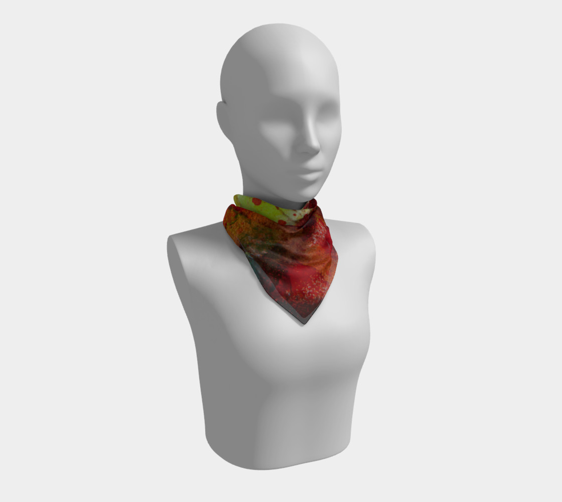 Graffiti Square Scarf 4 preview #1