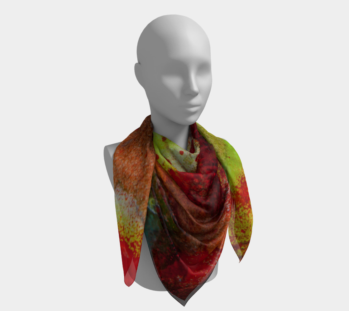 Graffiti Square Scarf 4 preview #4