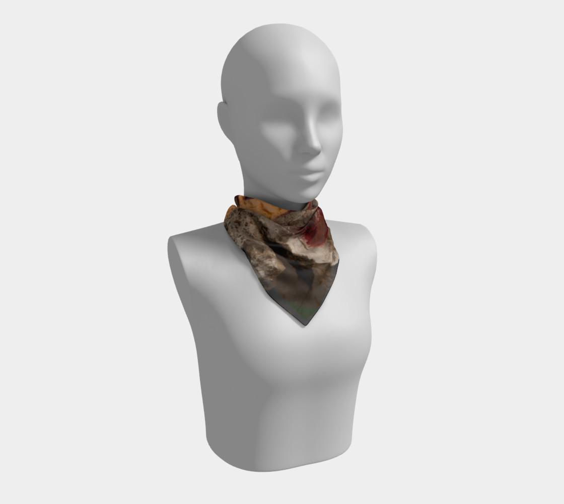 Graffiti square scarf 7 preview #1