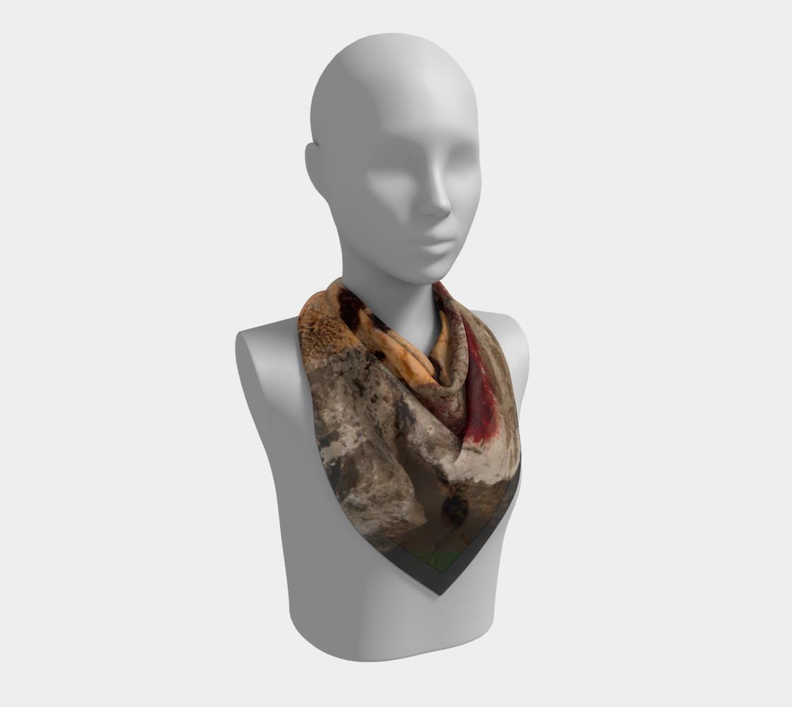 Graffiti square scarf 7 preview #2