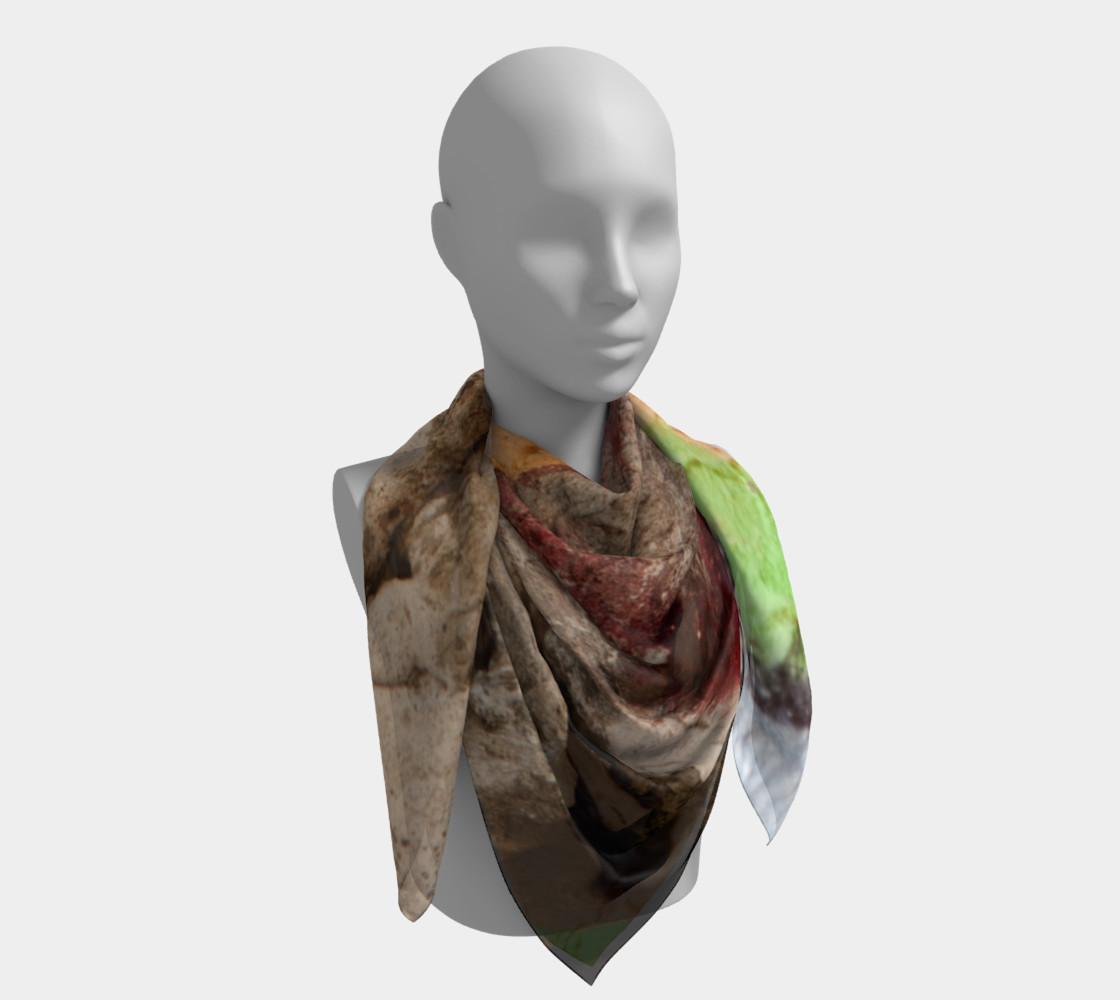 Graffiti square scarf 7 preview #4