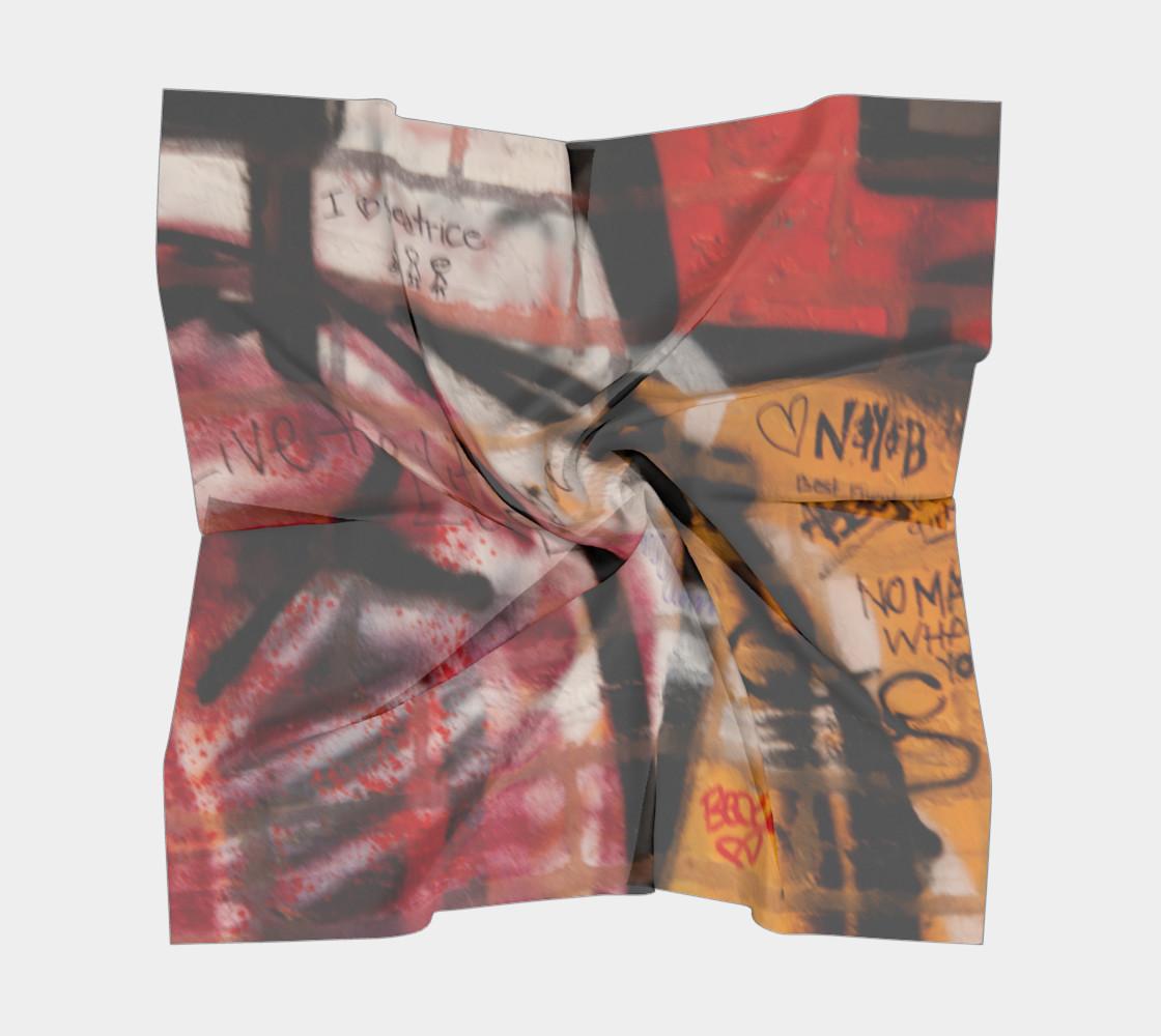 Graffiti Square Scarf 10 preview #5