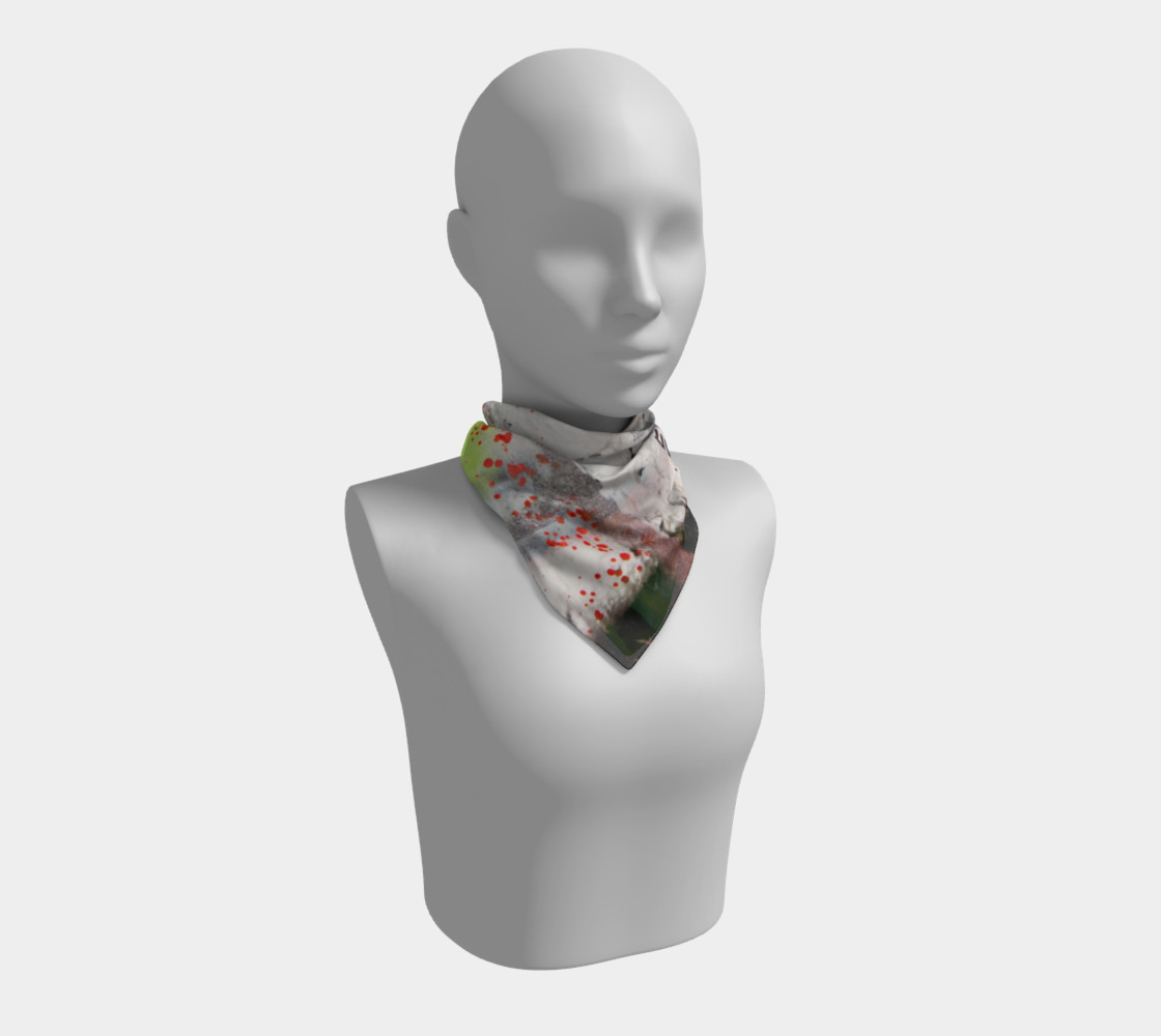Graffiti Square Scarf 16 Miniature #2