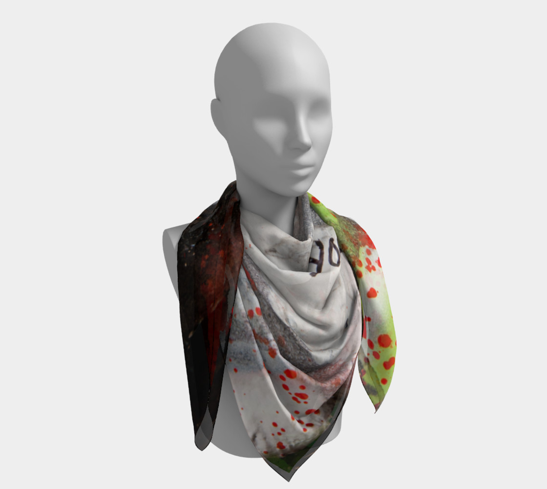 Graffiti Square Scarf 16 Miniature #5