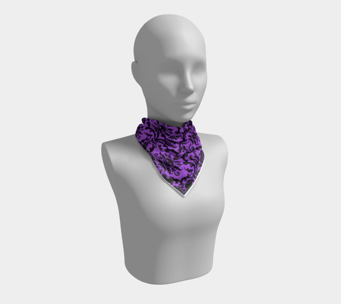 Horror Story Damask in Purple preview #1