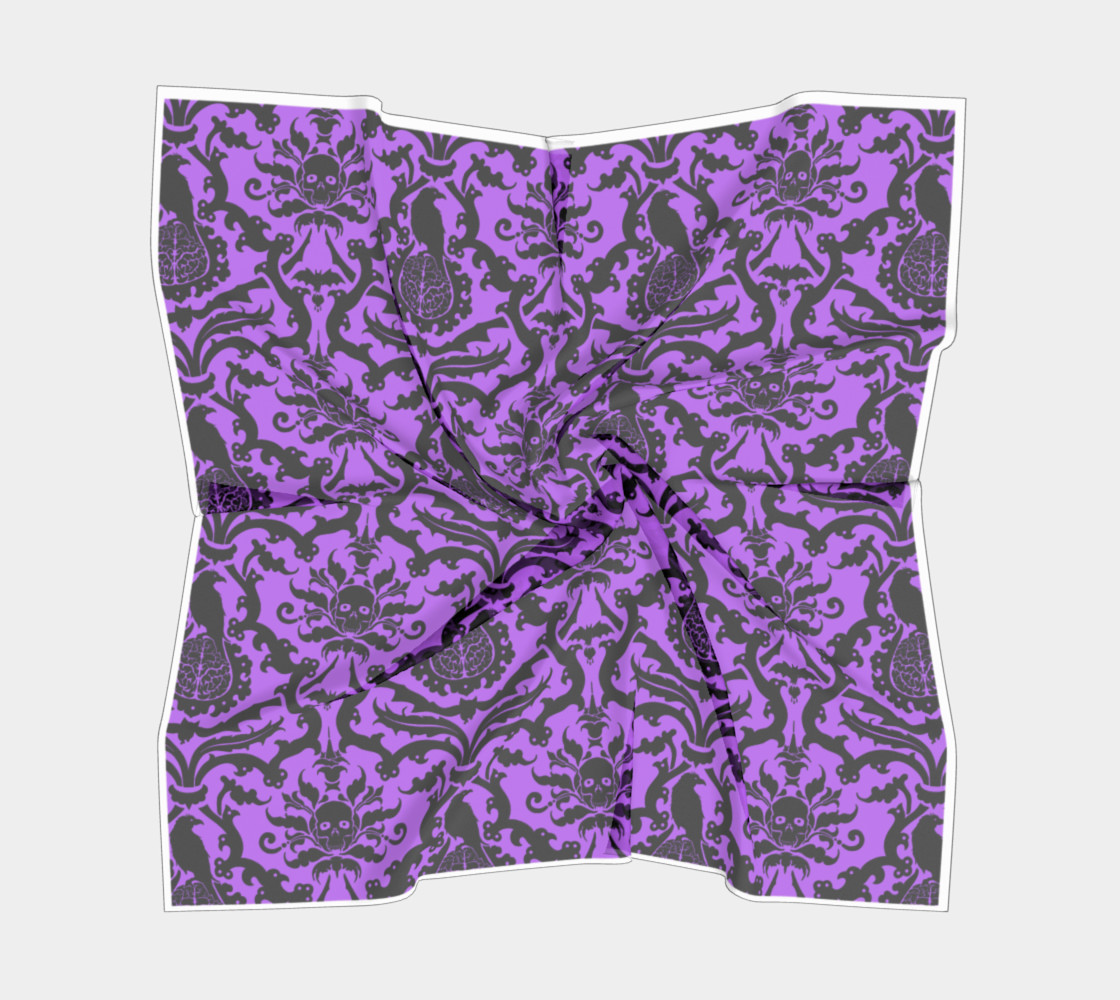 Horror Story Damask in Purple preview #5