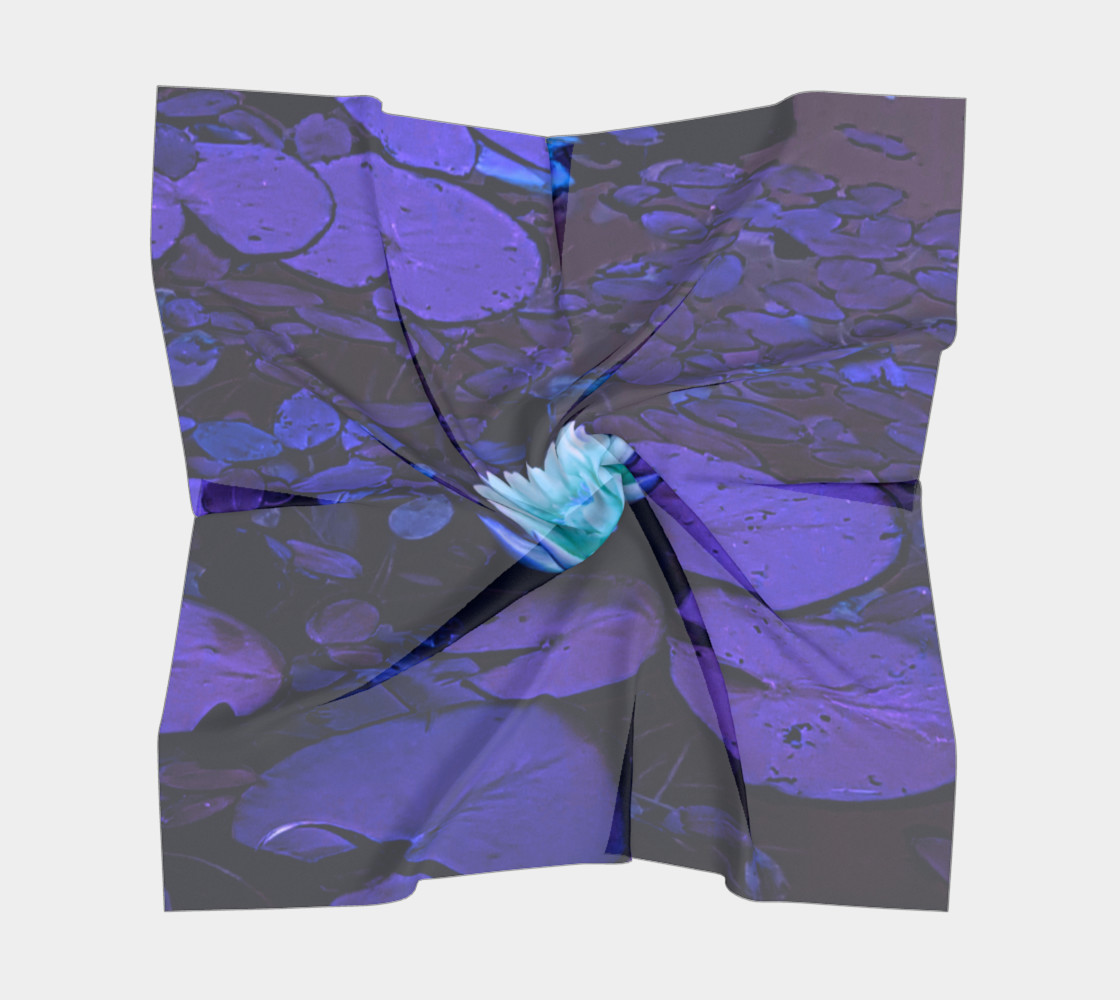 Lotus Flower Purple Turquoise preview #5