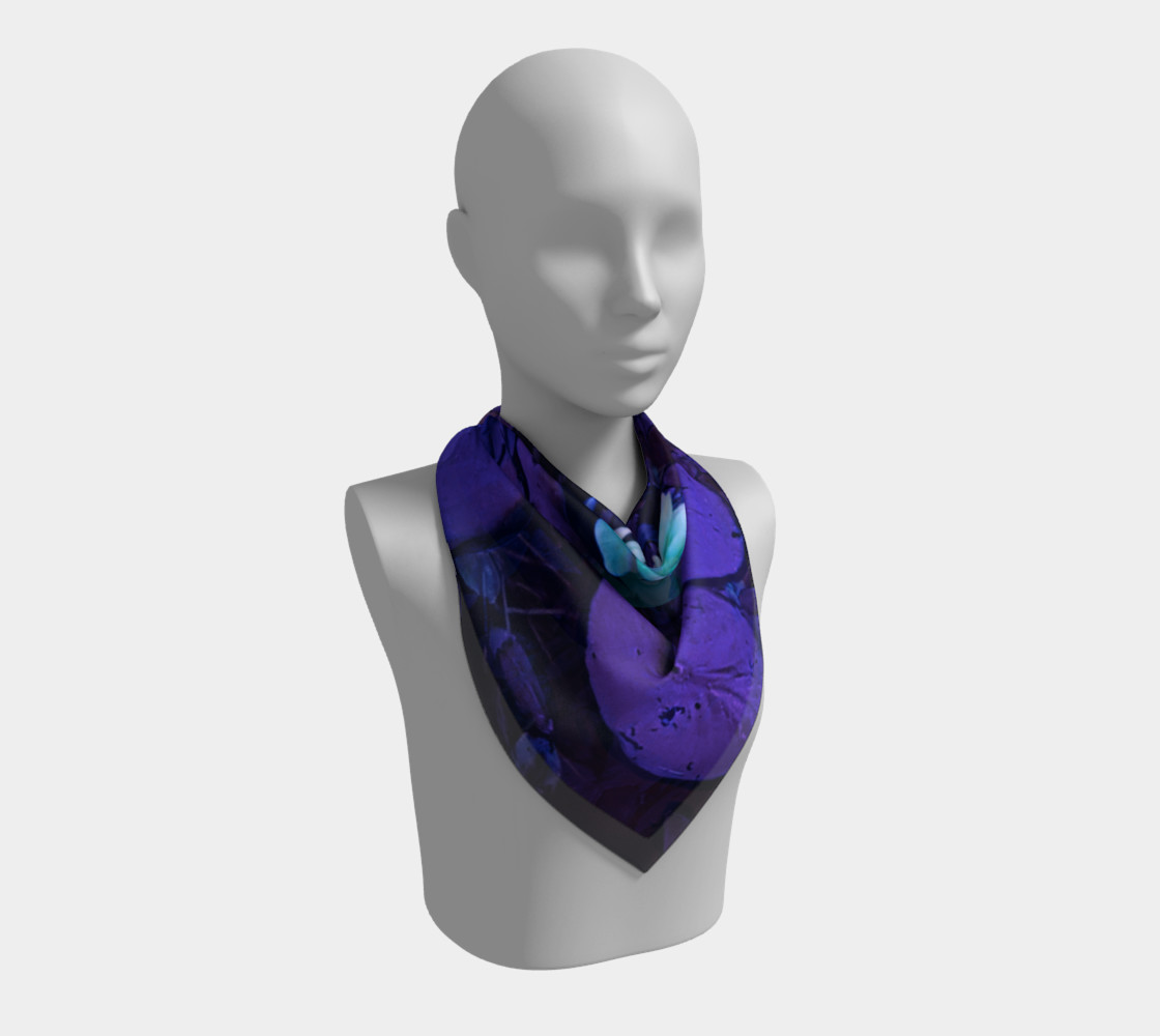 Lotus Flower Purple Turquoise preview #2