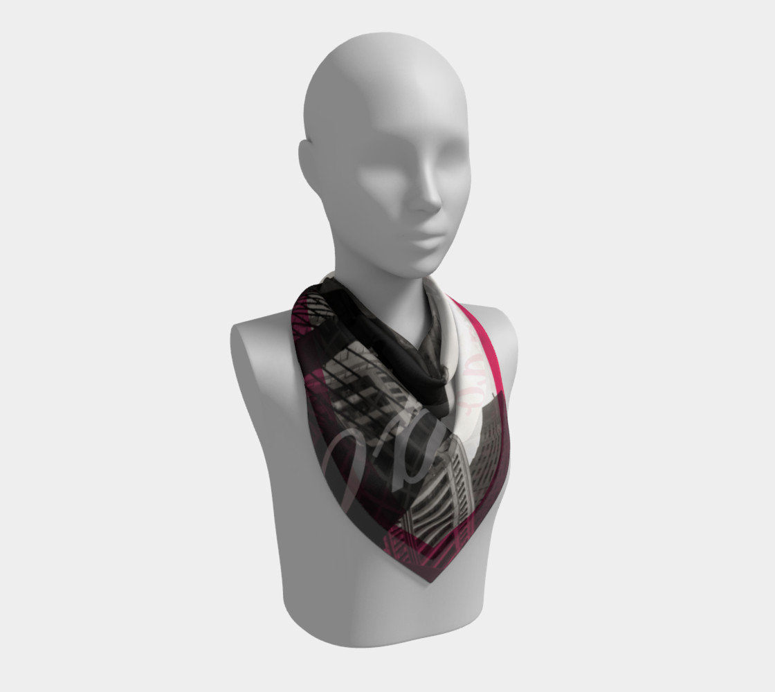 Chicago Picasso Silk Scarf preview #2