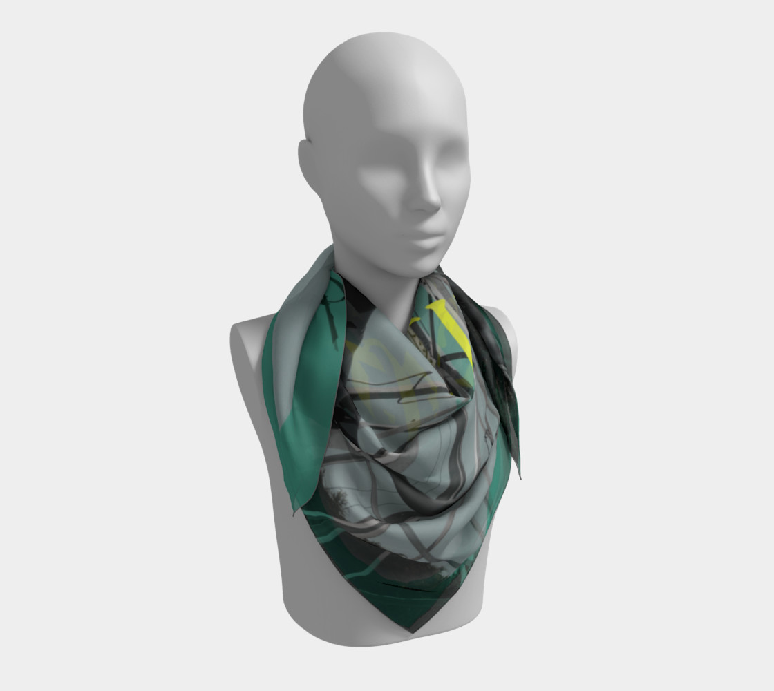 Austin Steer Silk Scarf preview #3