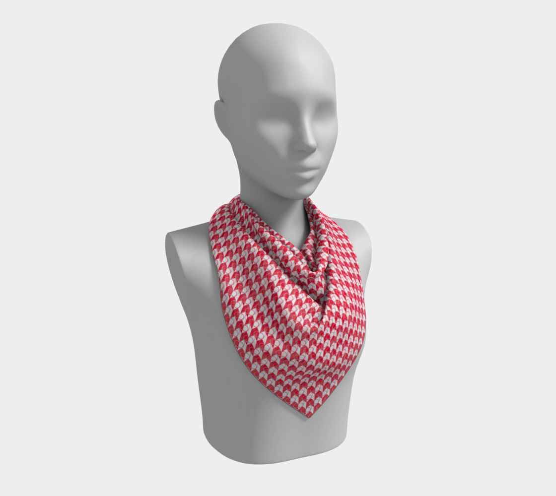 Square Scarf Inspired by Gallant Fox preview #2