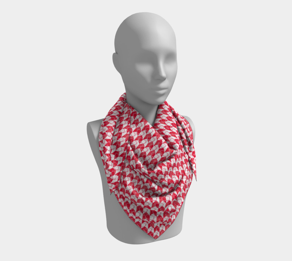 Square Scarf Inspired by Gallant Fox preview #3