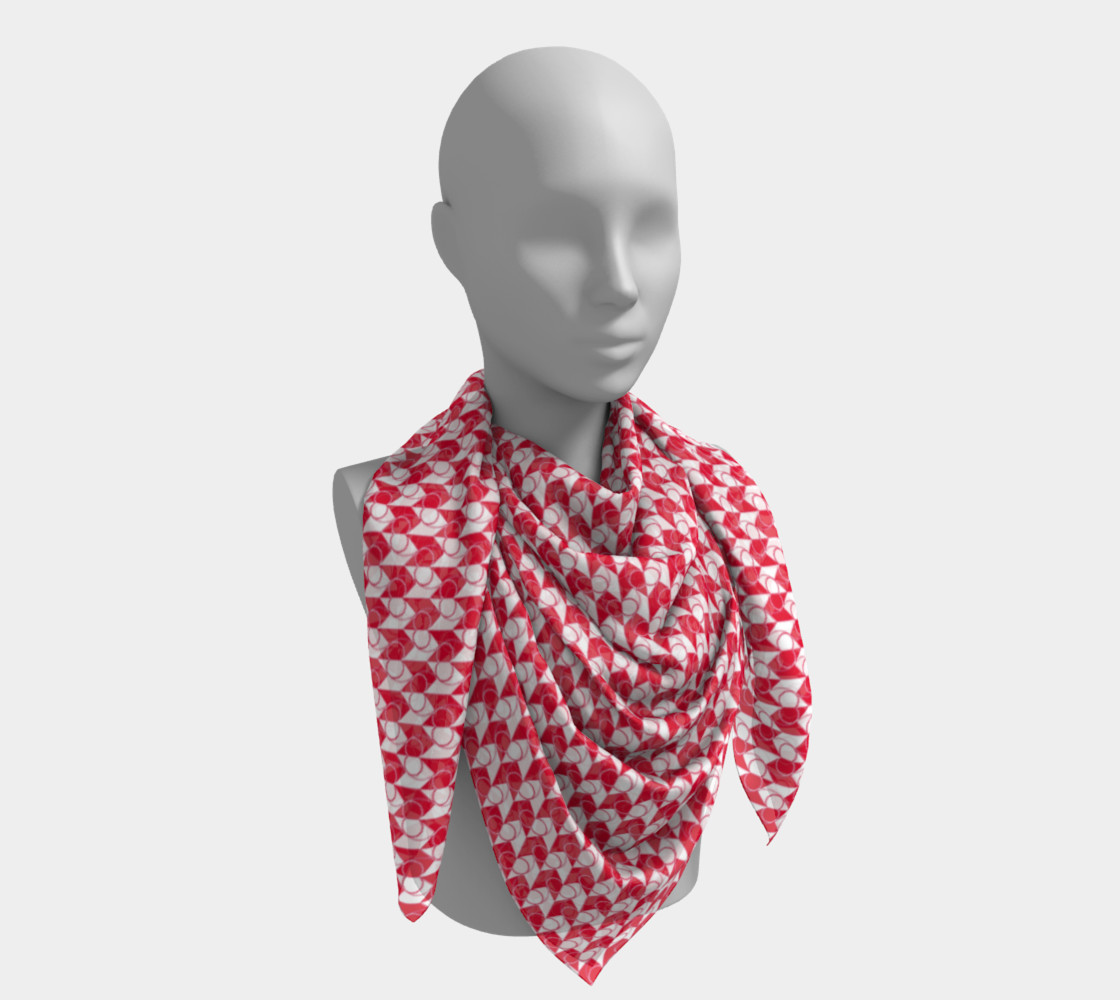 Square Scarf Inspired by Gallant Fox preview #4