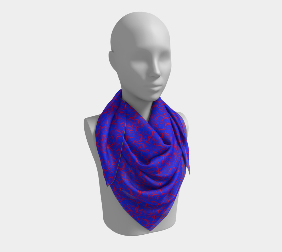 Square Scarf Inspired by Whirlaway preview #3