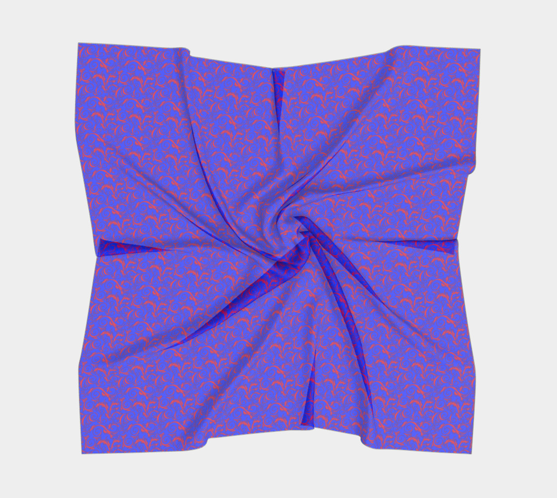 Square Scarf Inspired by Whirlaway preview #5