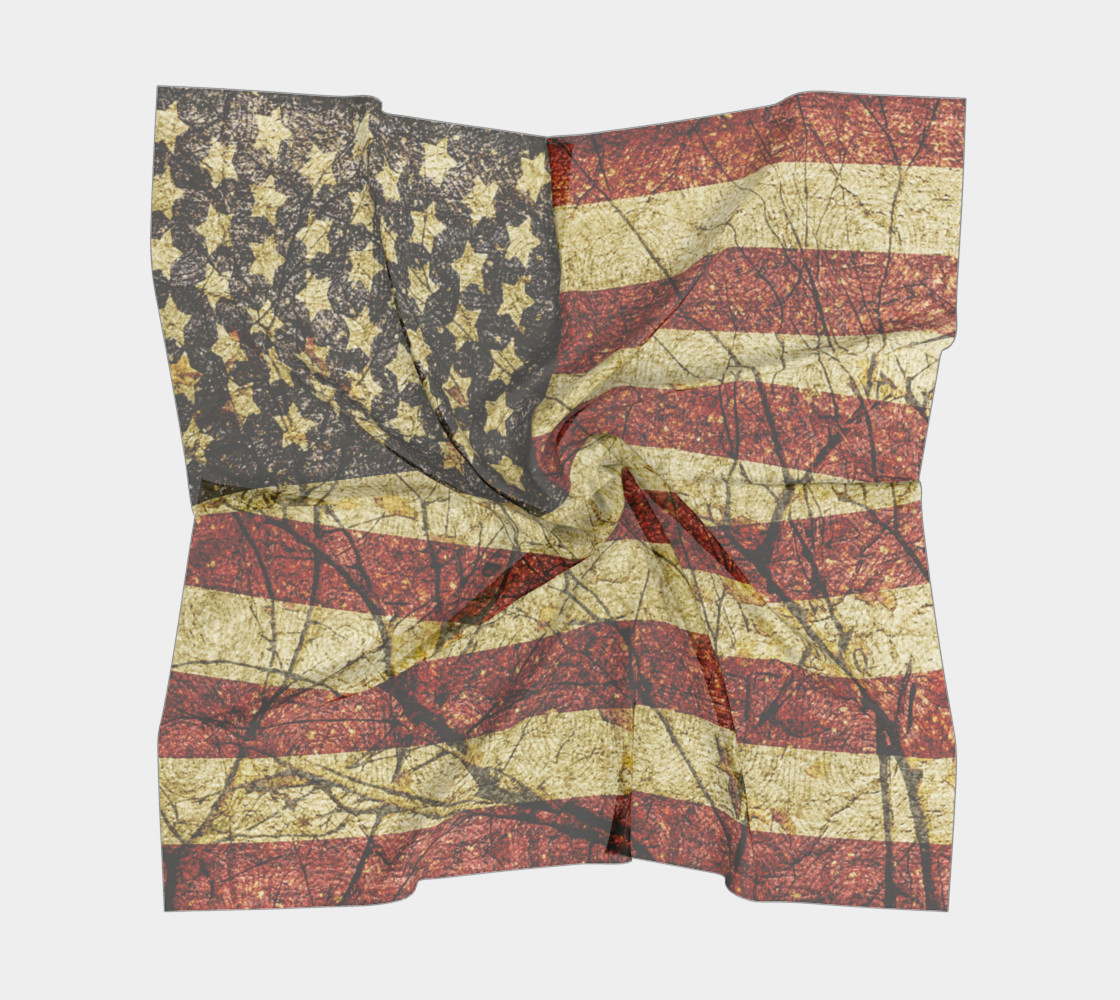 Vintage American Roots Scarf preview #5