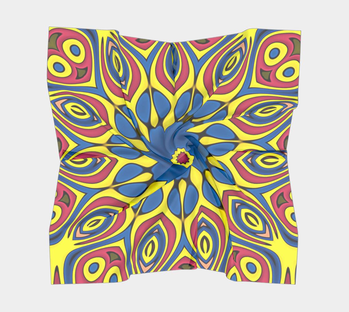 Aperçu de Yellow Flower Mandala #5
