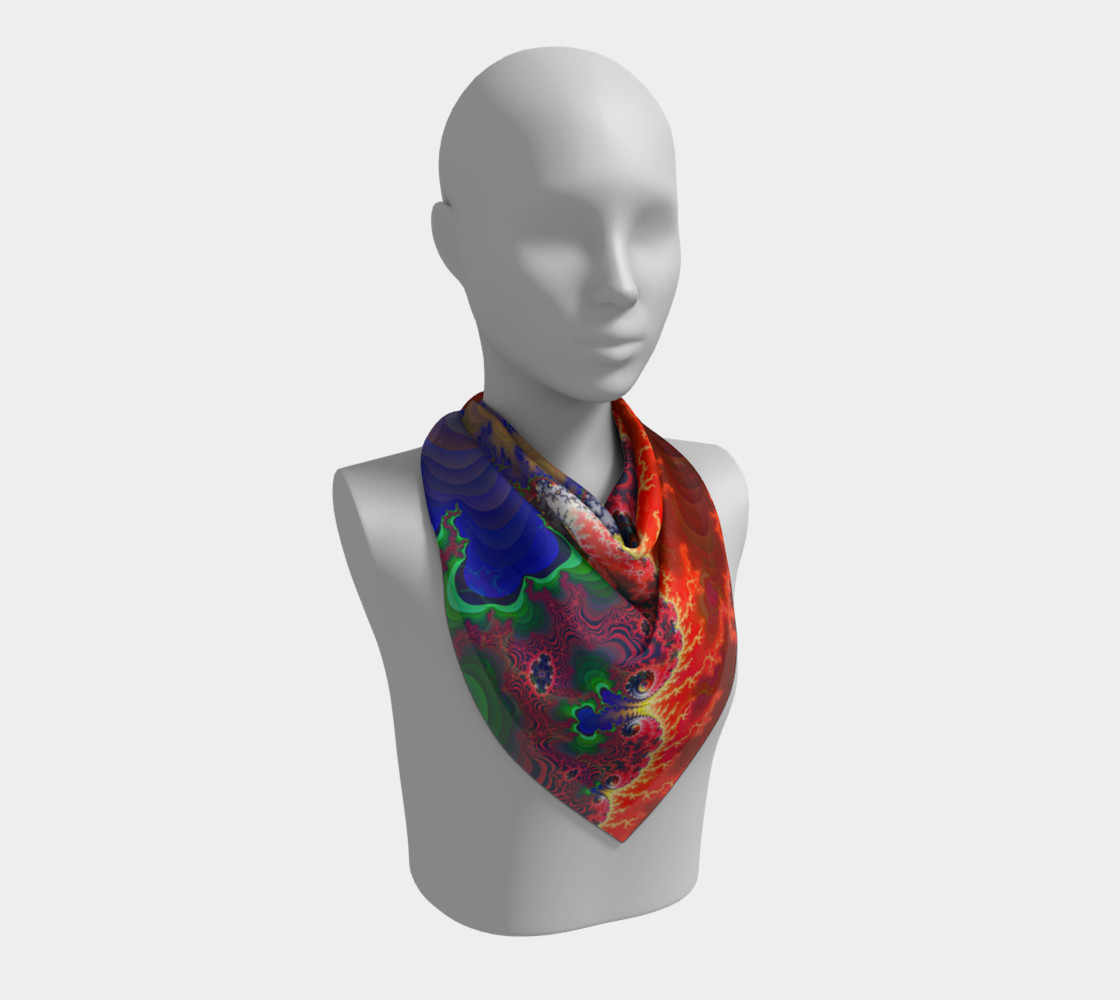 Pertolia - Square Scarf - by Danita Lyn preview #2