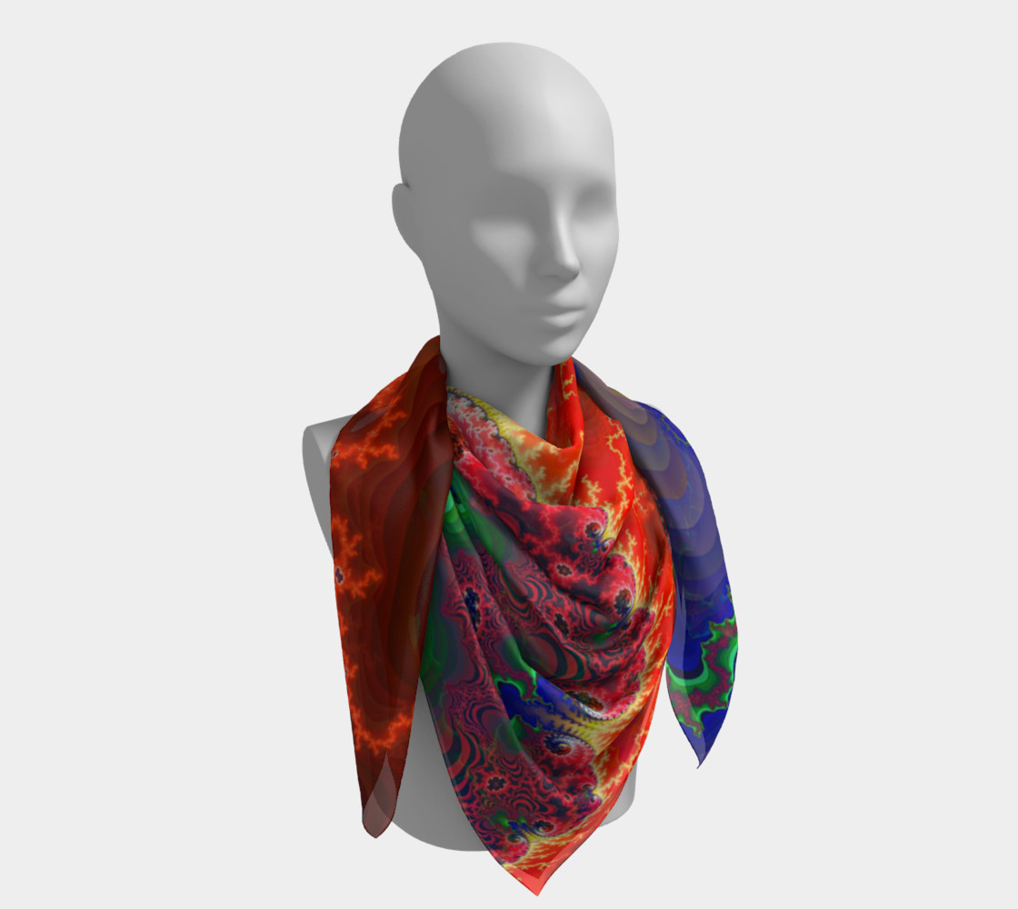 Pertolia - Square Scarf - by Danita Lyn preview #4