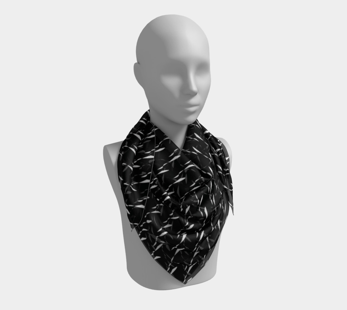 WOB Squiggle Scarf preview #3