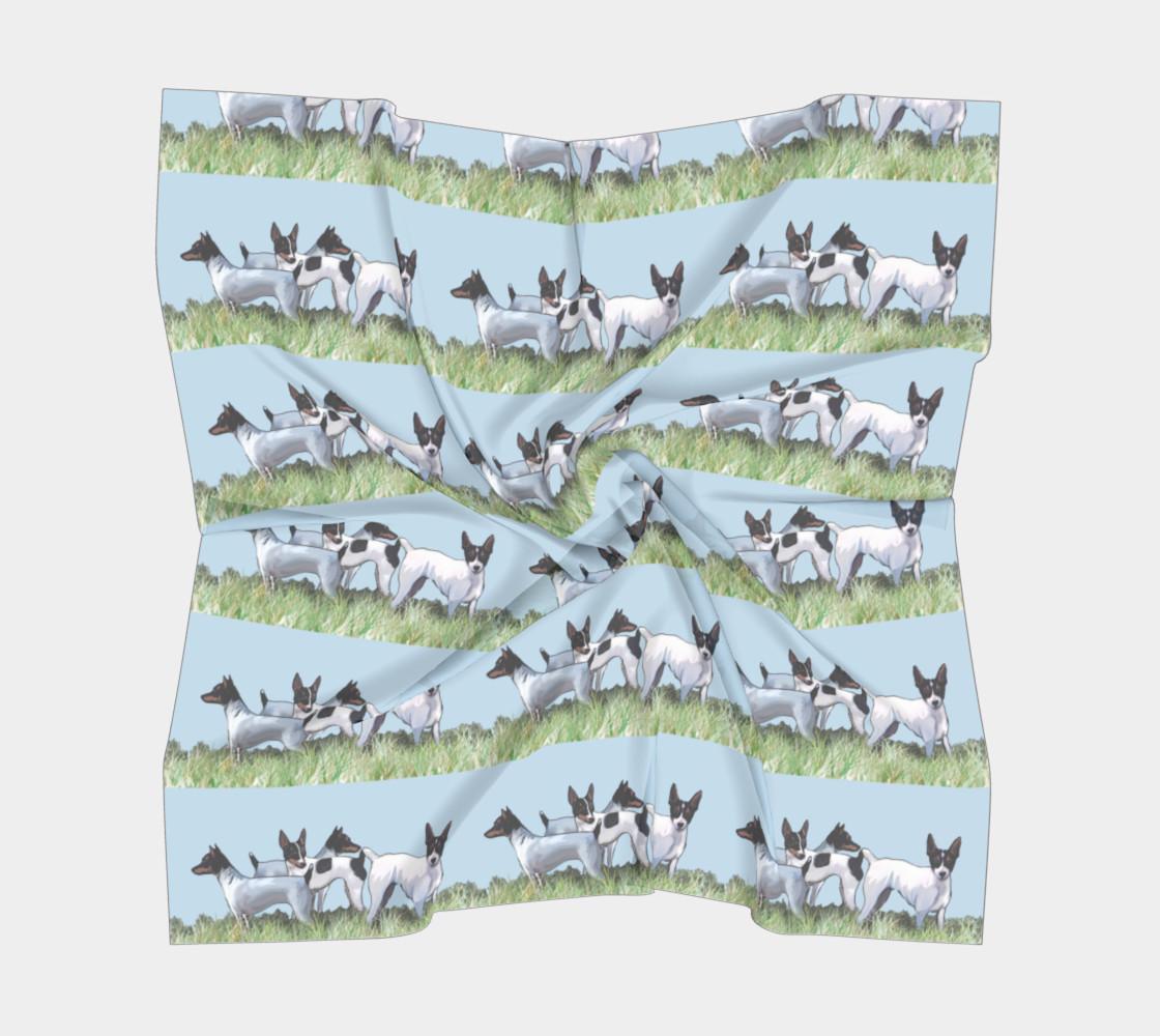 Aperçu de Toy Fox Terriers Silk Scarf #5