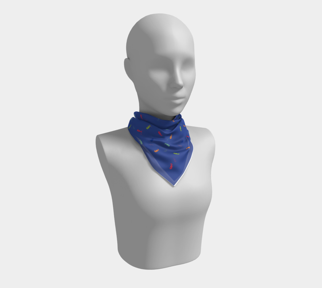 Maddie Blue Scarf preview #1