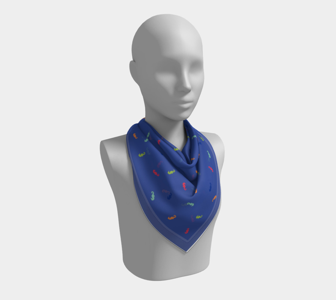 Maddie Blue Scarf preview #2