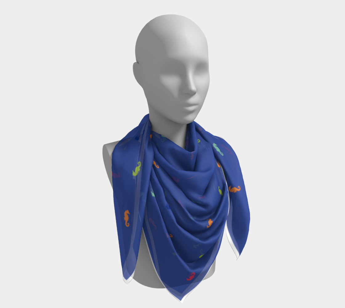 Maddie Blue Scarf preview #4