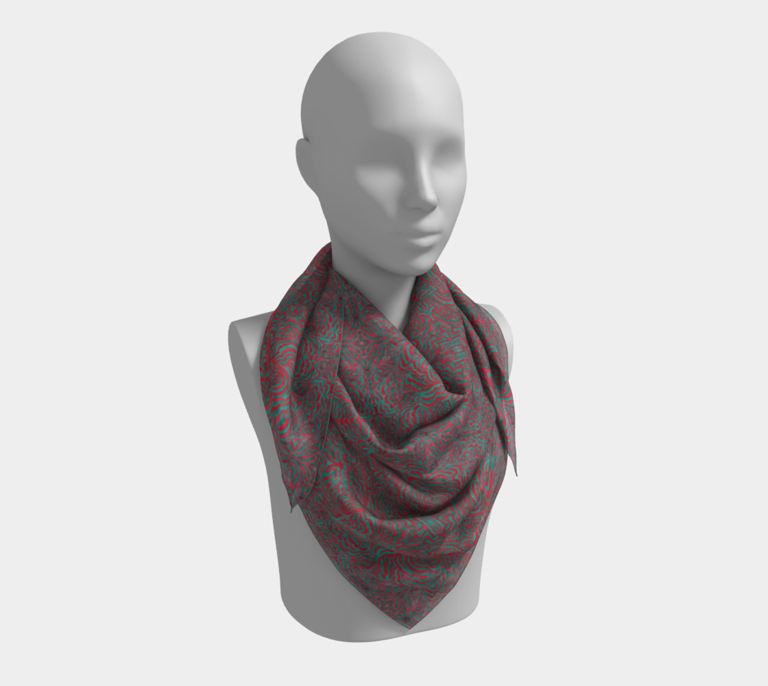 3D Square Scarf - Small preview #3