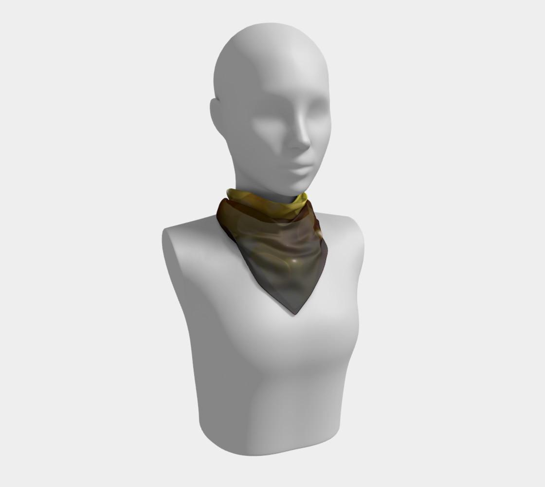 Golden bokeh skarf preview #1