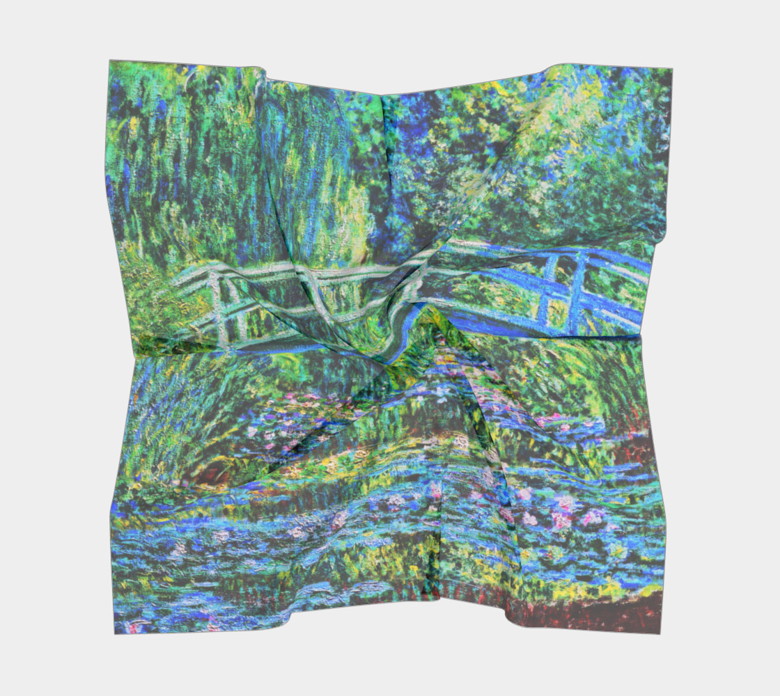 Monet - Water Lily Pond preview #5