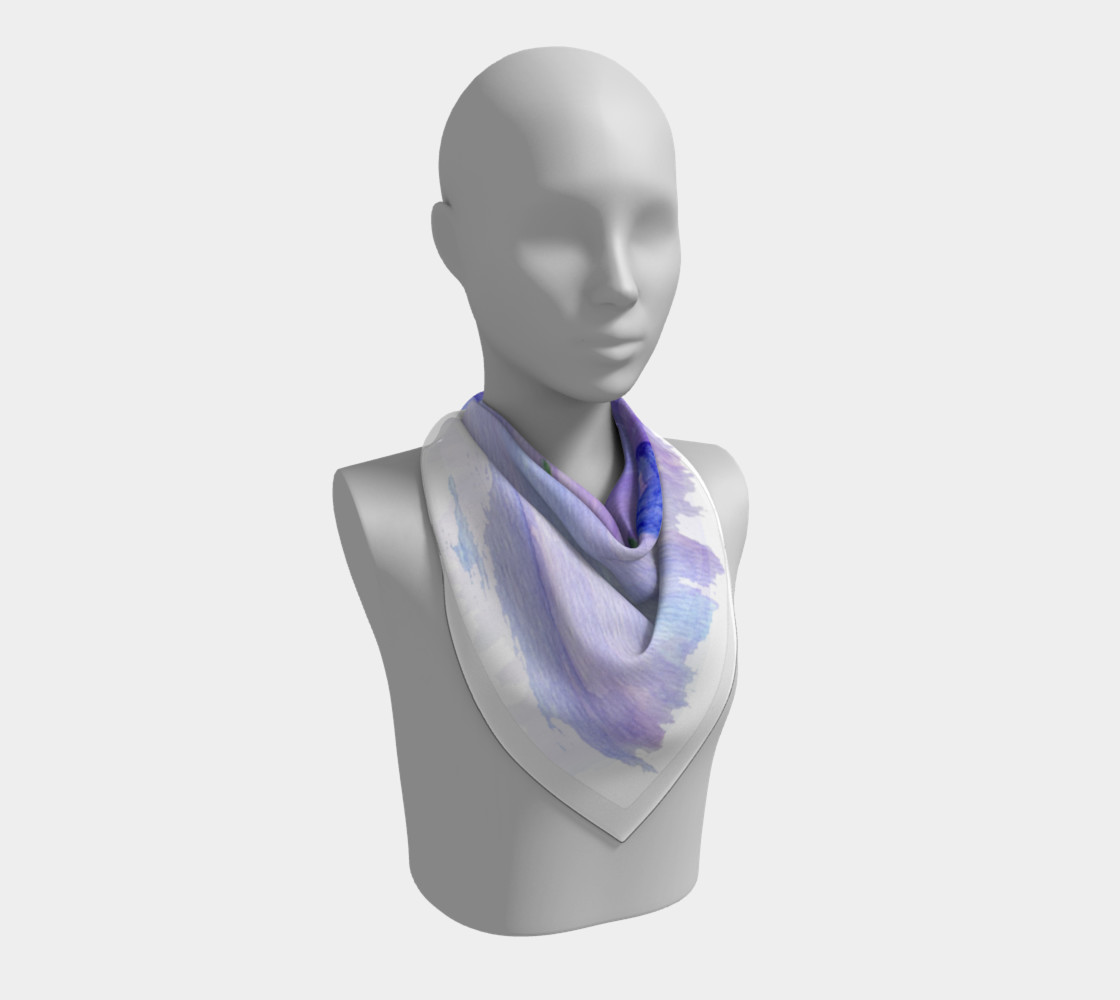 Mum Flower Square Scarf preview #2