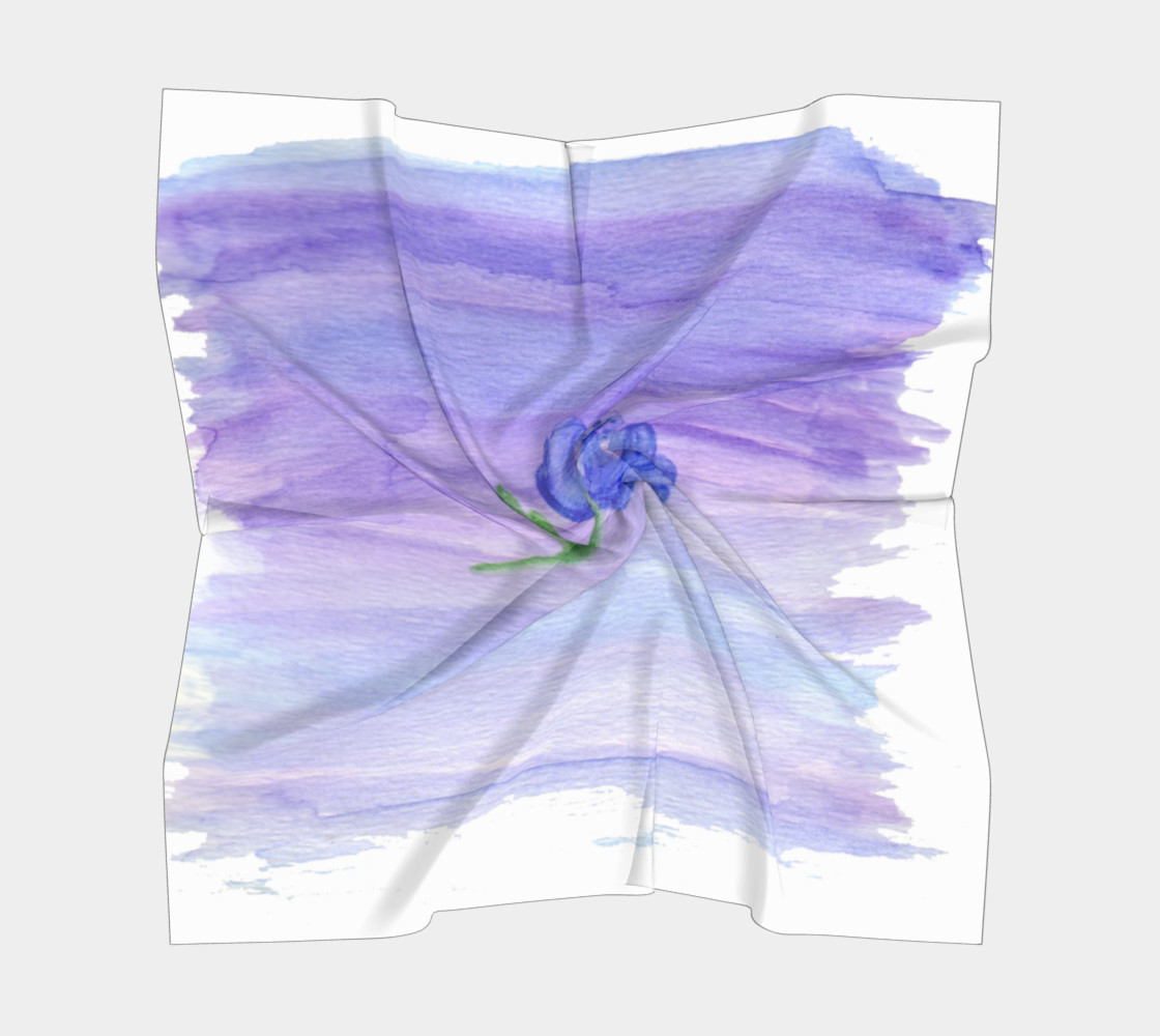Mum Flower Square Scarf preview #5